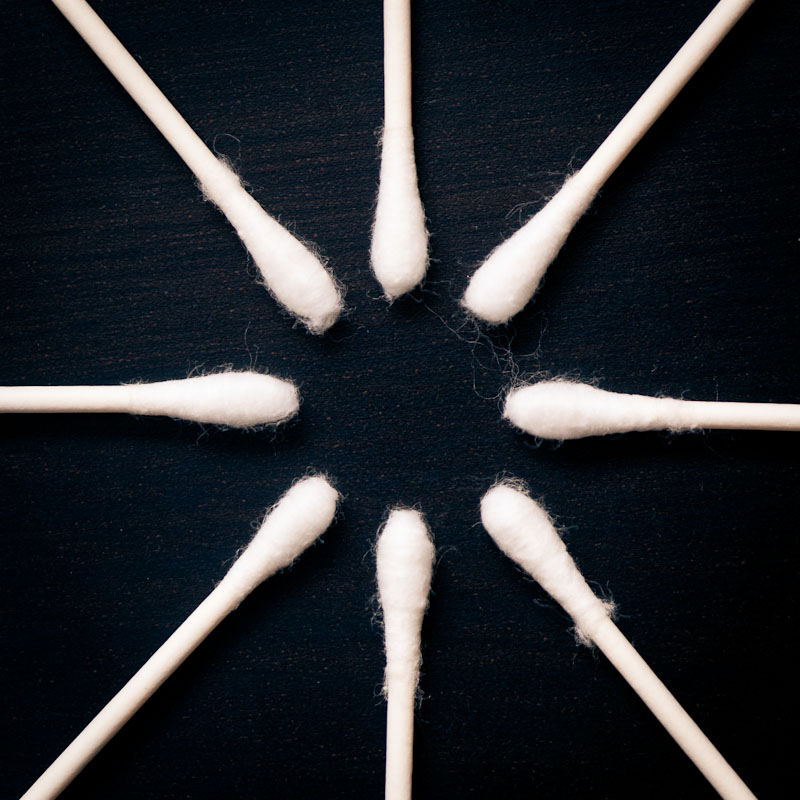 austin photographer 365 photo project circle o qtips