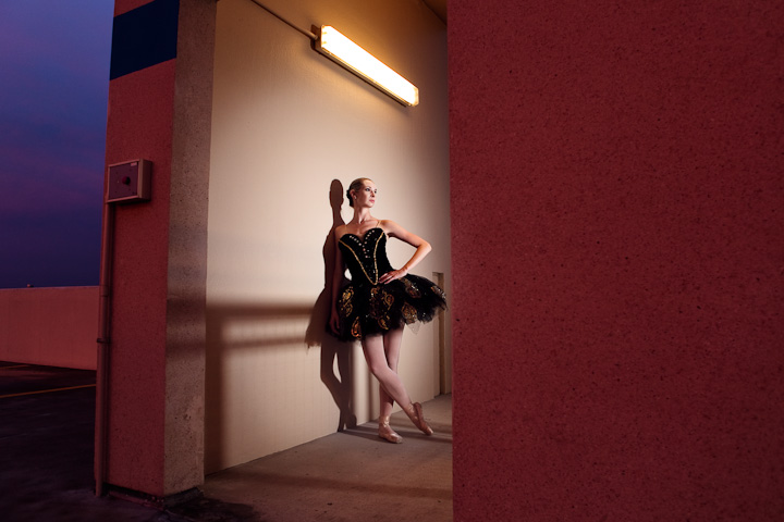 austin portrait photographer ballerina